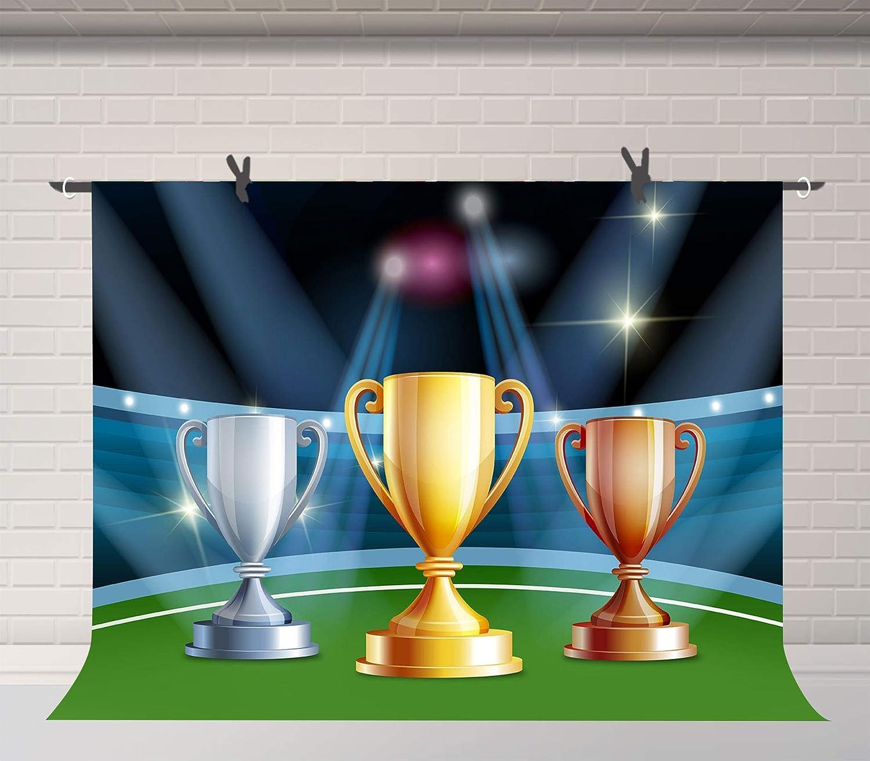 10x6.5ft Champion Trophy Photography Backdrop Studio Photo Props HXFU042