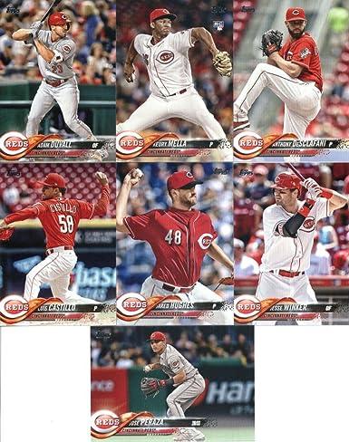 GOTBASEBALLCARDS 2018 Topps Series 2#450 Joey Votto Cincinnati Reds Baseball Card