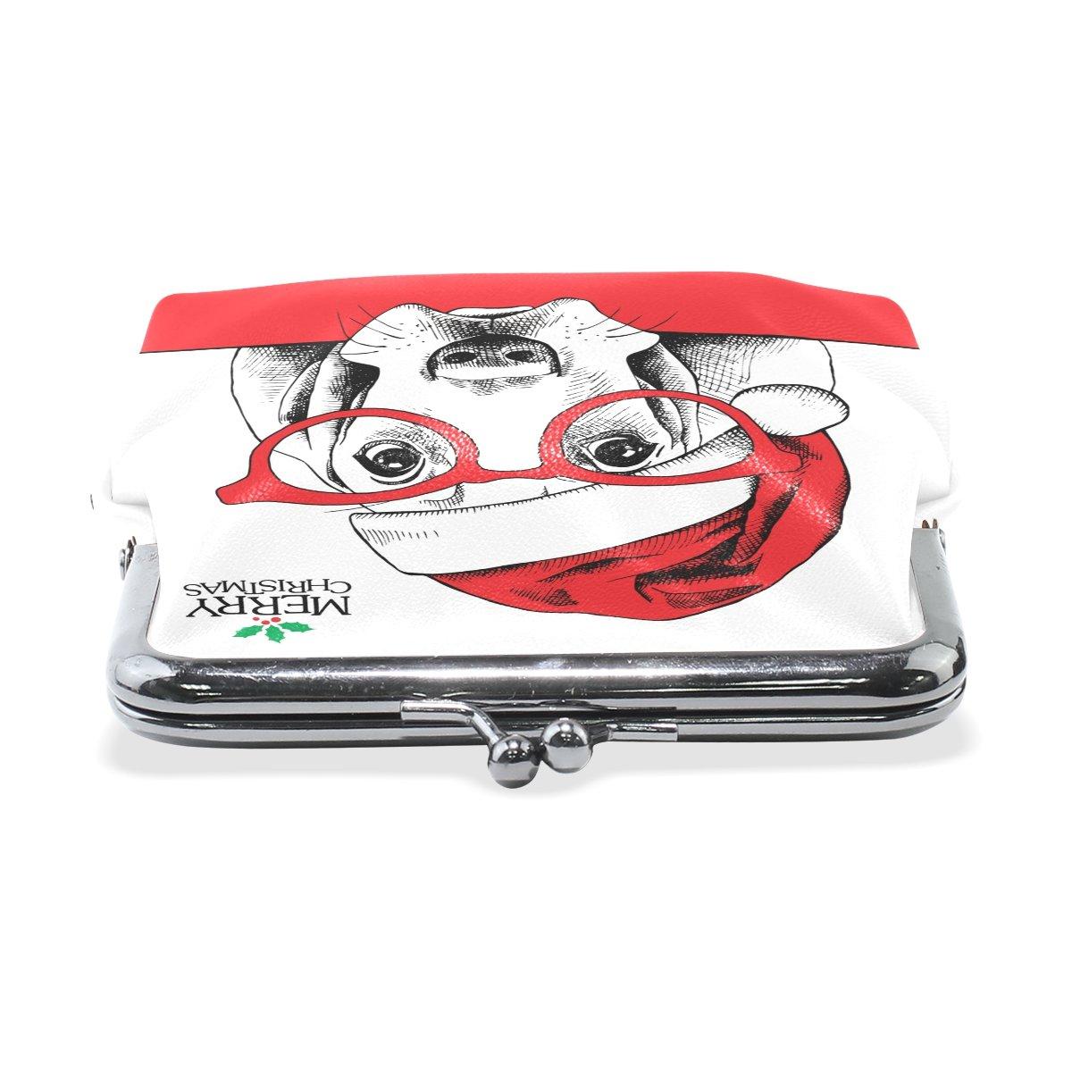 Coin Purse Cartoon Dog Wallet Buckle Clutch Handbag For Women Girls Gift