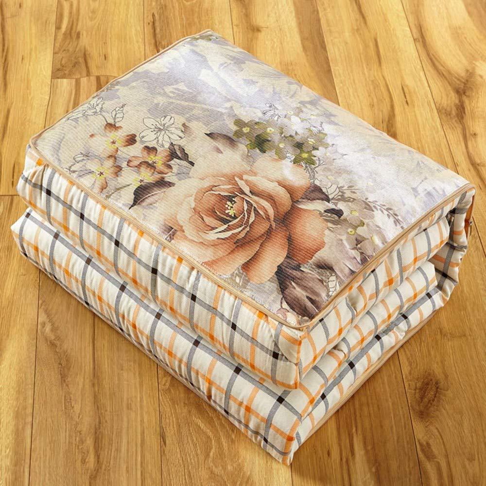 XZDXR Pillow Quilt Baumwolle EIS Seide gemalt Kissen von Office Nap durch Klimaanlage war Dual-Use-Bettwäsche 40  40cm110  150