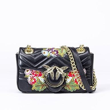 Amazon.com: MT mit Mujer de piel genuino bolsa de hombro ...