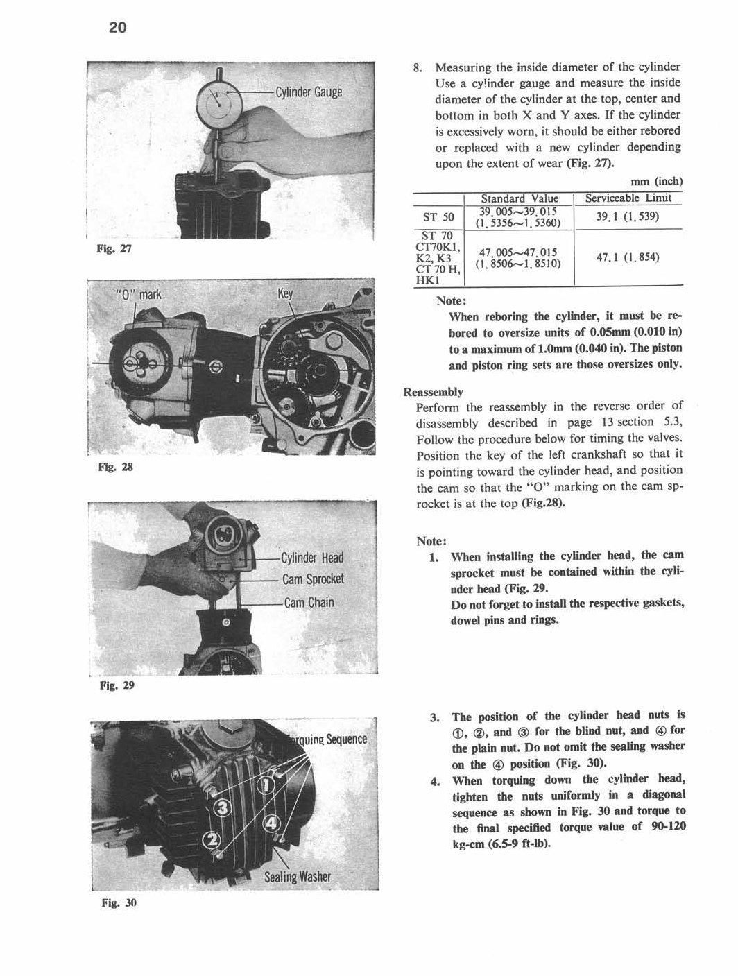 Amazon.com: Honda CT70, CT 70, ST50, ST 50, 1969-1982 Repair Service Manual  CD/DVD/PDF