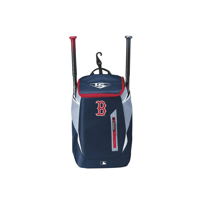 Wilson Bolsa para equipación de béisbol Louisville Slugger, Boston Red Sox, MBL GENUINE (SERIES 3) STICK PACK, Azul marino/Gris, WTL9302TCBOS