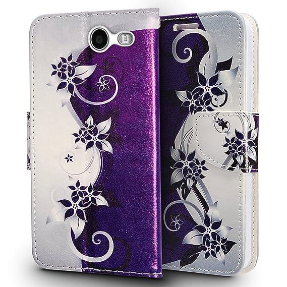 huge discount 2a585 9fac4 Samsung J3 Emerge Case, Samsung Galaxy J3 Prime ( MetroPCS ) Case,  Luckiefind Designer PU Leather Flip Wallet Credit Card Cover Case, Stylus  Pen, ...