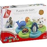 Vulli 523413 - Puzzle de animales para el baño, diseño Sophie la jirafa