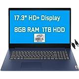 """2021 Flagship Lenovo IdeaPad 3 Business Laptop 17.3"""" HD+ Display 10th Gen Intel 4-Core i5-1035G1 (Beats i7-8665U) 8GB RAM 1TB"""