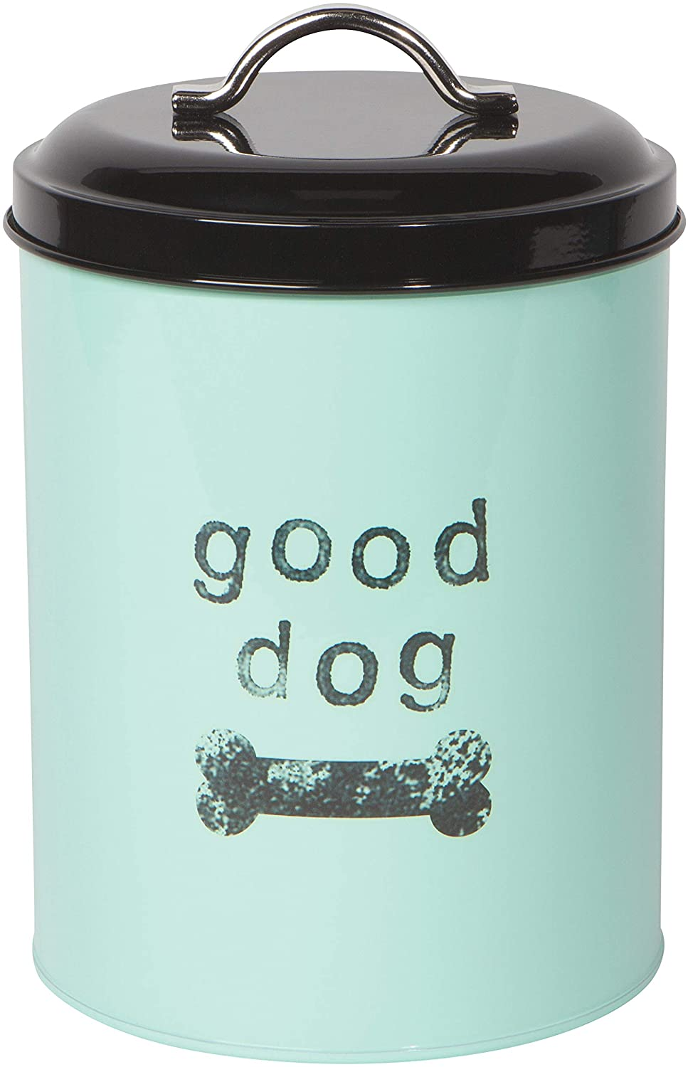 Now Designs Dog Biscuits Tin with Lid, Good Dog Design