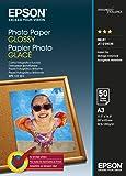 Epson Carta Fotografica Glossy, A3, 50 Fogli, Bianco