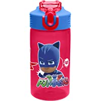 Zak Designs PJMD-T120 PJ Masks Water Bottles, 16 oz, Gekko, Owlette & Catboy
