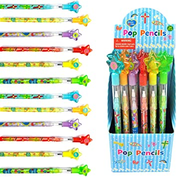 24 Pieces - Stationery Be Kind Religious Pencils 24 Pc