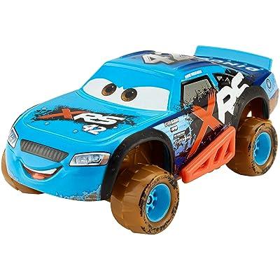 Disney Pixar Cars XRS Mud Racing Cal Weathers: Toys & Games
