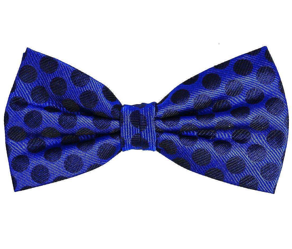 Paul Malone Silk Bow Tie Royal Blue