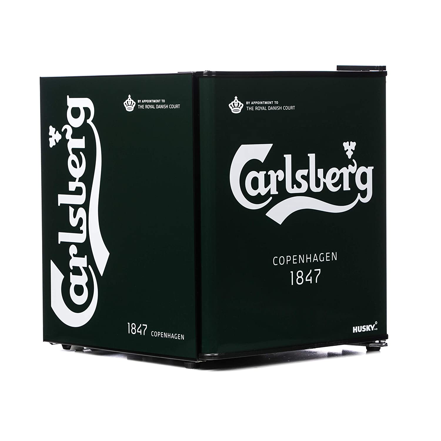 Husky HUS-HY208-HU Carlsberg Mini Fridge [Energy Class A+]