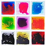 Art3d Liquid Fusion Activity Play Centers for Children, Toddler, Teens, 12  X 12  Pack of 9 Tiles
