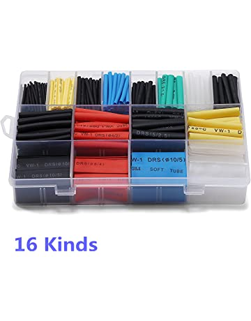 Amazon.com: Heat-Shrink Tubing - Wiring & Connecting ... on tube terminals, tube dimensions, tube assembly, tube fuses,