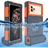 Willbox Professional [15m/50ft] Diving Surfing Swimming Snorkeling Photo Video Waterproof Protective Case Underwater Housing