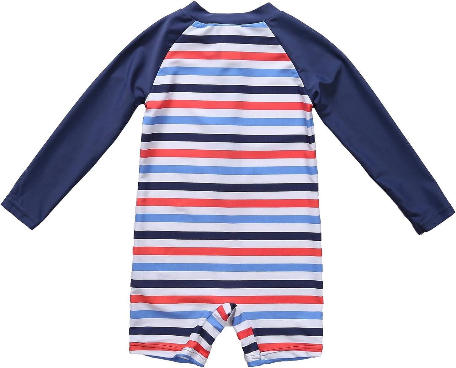 belamo Baby Boys Girls Rashguard Swimsuit Short Sleeve Sun Protection Shirts