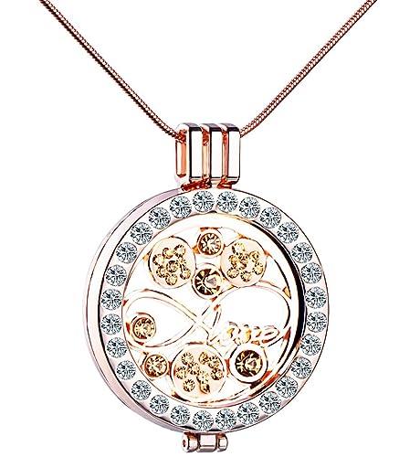 Unendlich U Love Unendlichkeit Symbol Damen Halskette Legierung