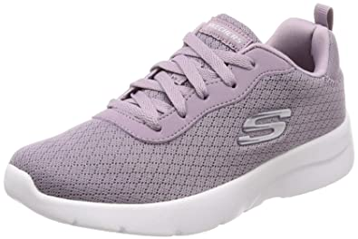 01bf003070b SKECHERS DYNAMIGHT 2.0 EYE TO EYE LACE UP TRAINERS Lilac 3