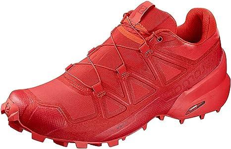 Salomon Speedcross 5 - Zapatillas de running para mujer, high risk red-barbados cherry-, 4 UK: Amazon.es: Deportes y ...