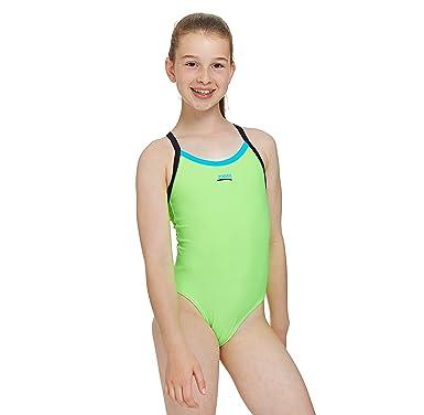 7b3d269442 Zoggs Kerrawa Strikeback 30 (Age 10-11) Green  Amazon.co.uk  Clothing