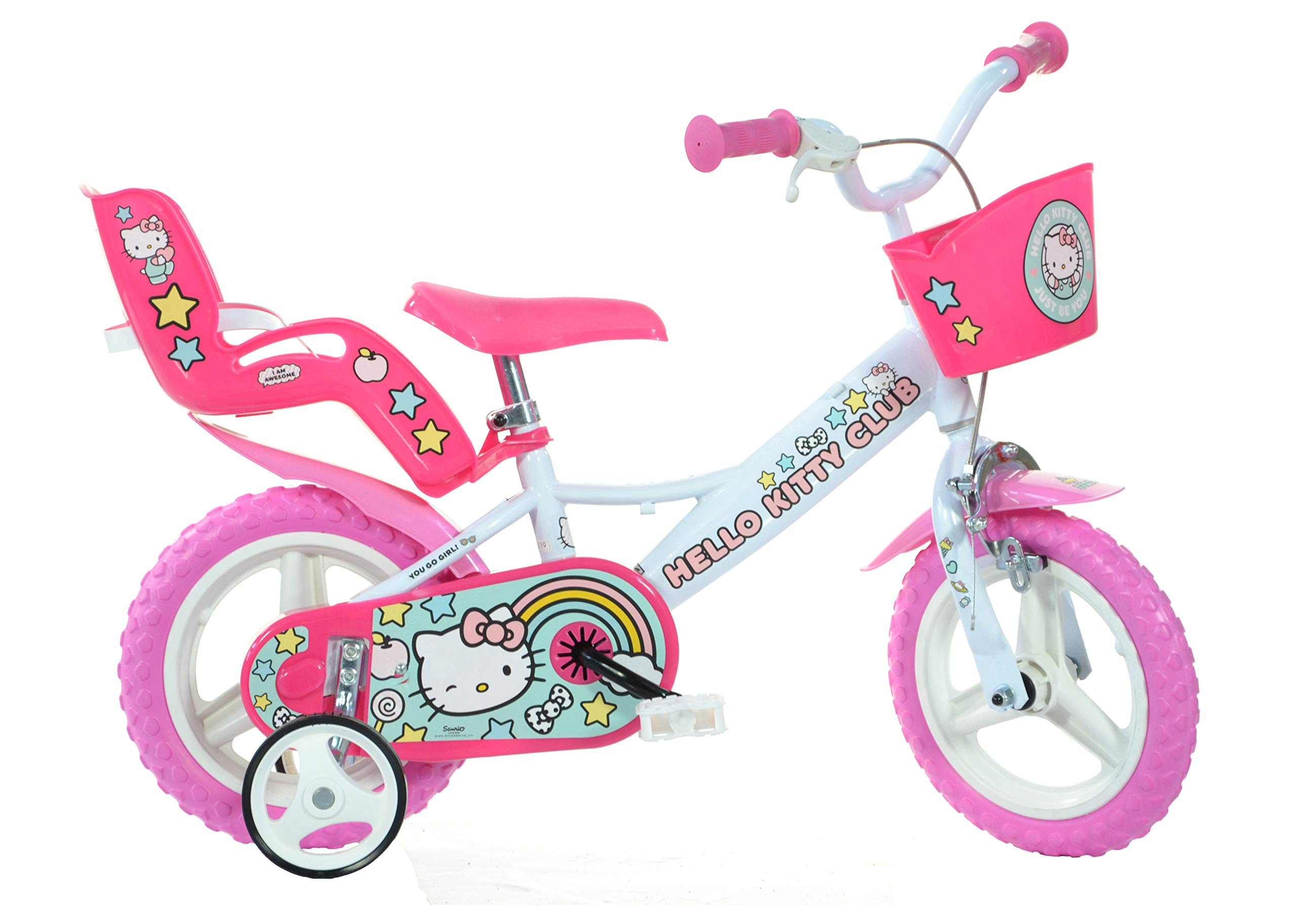 Dino Bikes 124R-HK 12-Inch Hello Kitty Bicycle