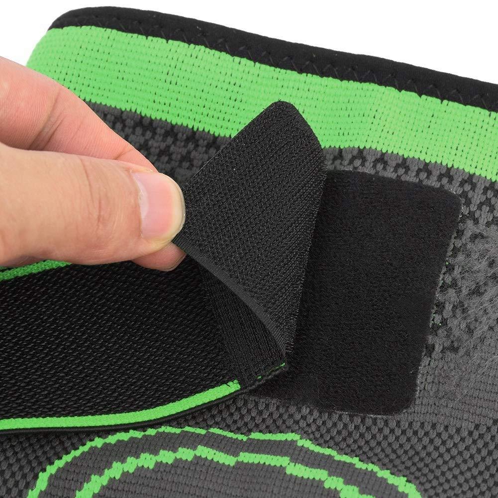 tama/ño : XL Protecci/ón contra lesiones por lesiones Apariencia 3D Tejido deportivo Presurizaci/ón Rodillera Soporte Brace 45-50CM Soporte de rodilla