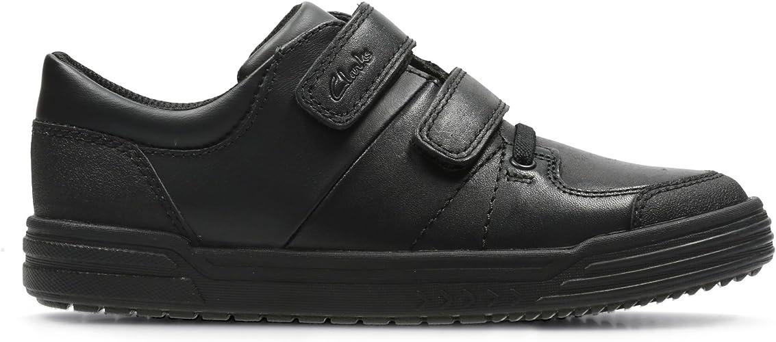 Clarks Boys Hook /& Loop School Shoes Venture Walk