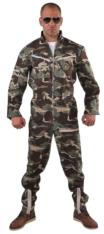 M215206-XXL camouflage Herren Piloten Kampfpilot Overall Gr.XXL