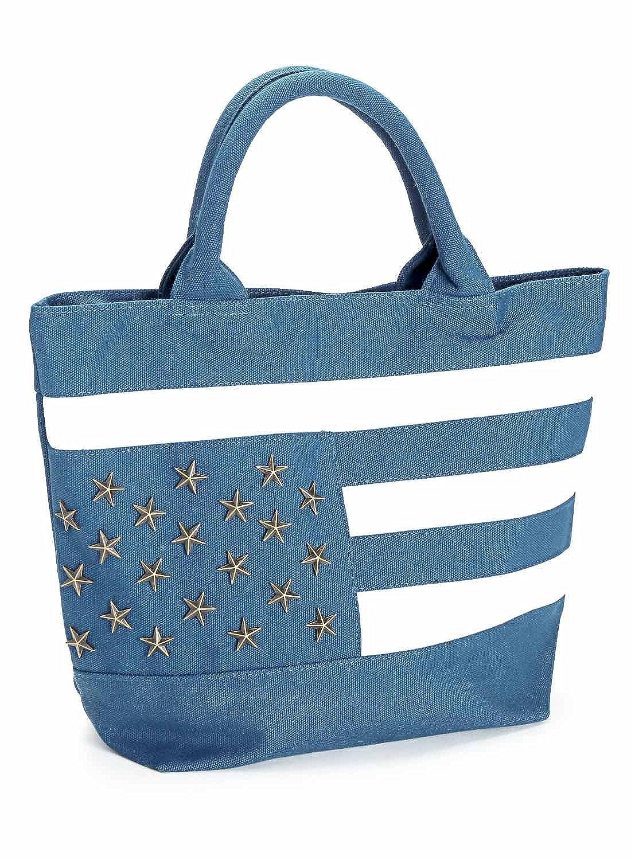 41d4a76968b7 Amazon | LUX STYLE(ラグスタイル) トートバッグ 鞄 キャンバス ミニトート アメカジ ミニトート ブルー |  LUXSTYLE(ラグスタイル) | トートバッグ