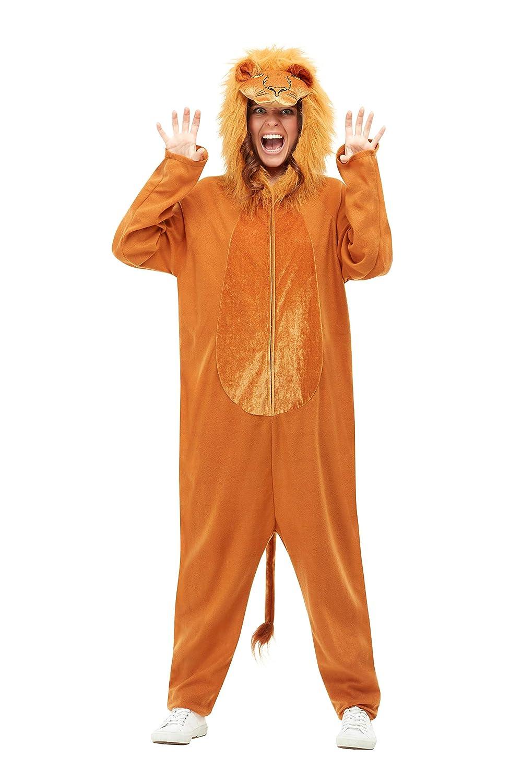 Smiffys 50712M - Disfraz de león para adultos, unisex, color ...
