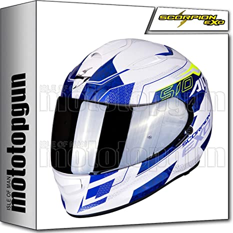 SCORPION 51-240-126 CASCO MOTO INTEGRAL EXO-510 AIR GALVA PERLA BLANCO