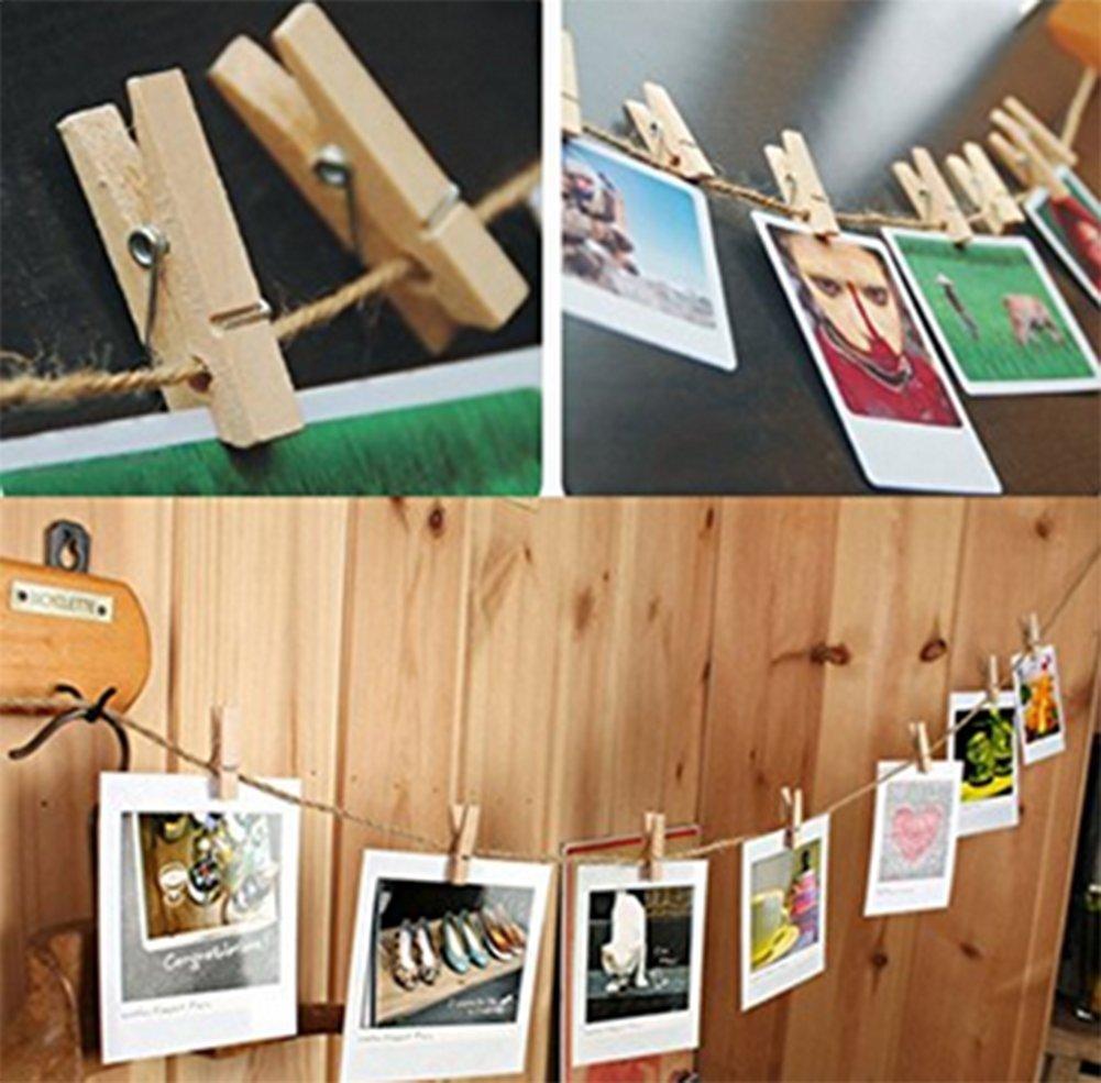 manualidades decoraci/ón de jardines Cuerda de yute de 30 m de grosor natural para regalos Wa Da