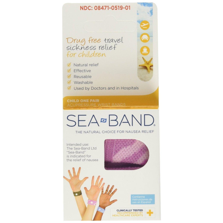 Sea-Band Child Wristband for Travel Sickness 8000025C