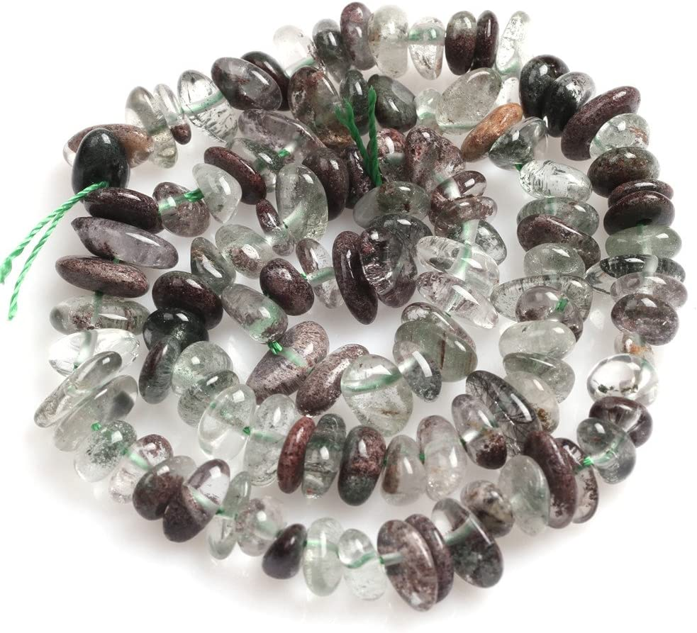 Garnet Beads for Jewelry Making Natural Gemstone Semi Precious 6x8mm Freeform 15 JOE FOREMAN