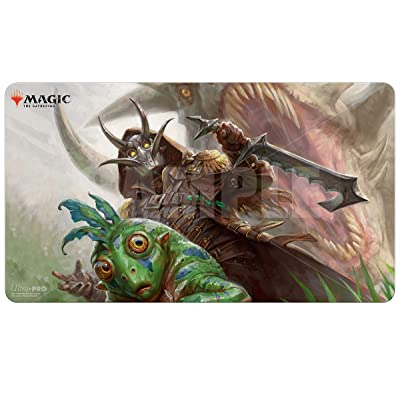 Ikoria: Lair of Behemoths - Easy Prey Playmat for Magic The Gathering: Toys & Games