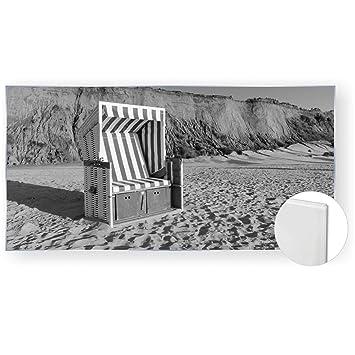 Acrylglasbild Glasbild Bild 120x60 Cm 5mm Natur Strandkorb Strand