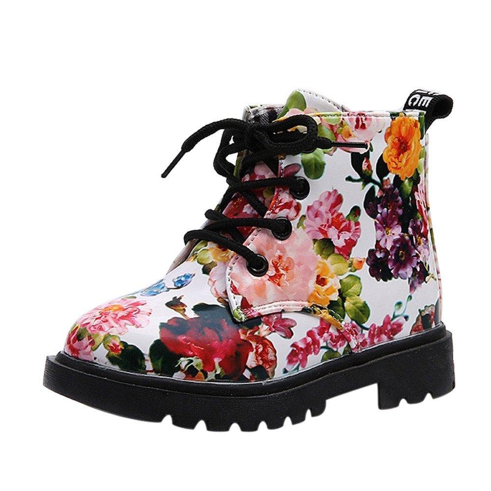 Trunlay Zapatos de bebé para niña, moda casual, flores, martin ...