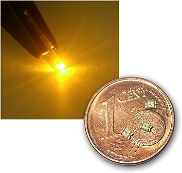 World Trading Net 50 Smd Led 0805 Gelb Klar Typ Elektronik