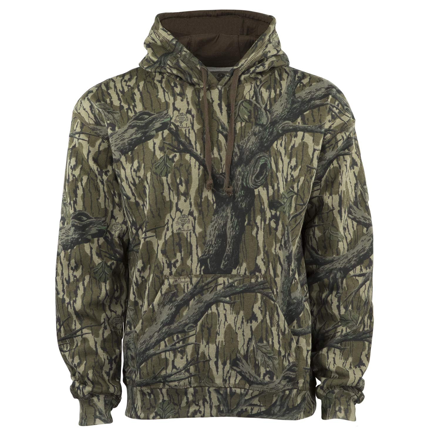 Mossy Oak Men's Vintage Camo Hunt Hoodie, Original Treestand, Large by Mossy Oak