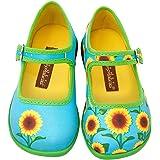 Hot Chocolate Design Mini Chocolaticas Sunflower Girls Mary Jane Flat