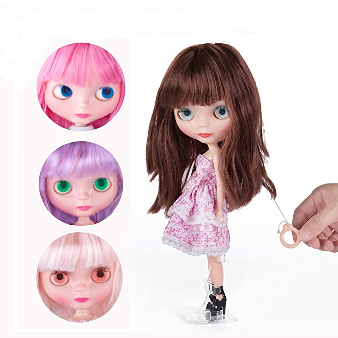 Analytical Free Shipping Top Discount 4 Colors Big Eyes Diy Nude Blyth Doll Item No Toys & Hobbies 29 Doll Limited Gift Special Price Cheap Offer Toy Beautiful And Charming