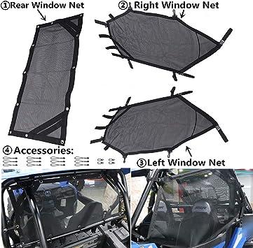 SPORT TRAIL 2015-2019 Panel Polaris XC RZR 900 Rear Poly Window Windshield
