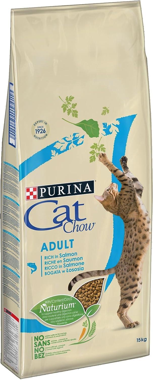 Purina Cat Chow Gato Adulto Salmón y Atún 15 Kg