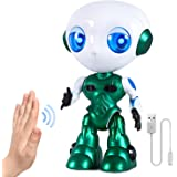 Interactive Talk and Walk Robot Toys for Boys Girls 2 3 4 5 6 7 Year Old ,Sensing Control Robot Gifts for Kids Toddlers Age 2