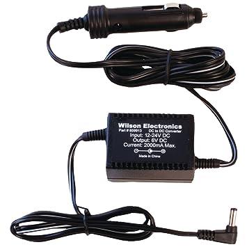 Wilson Electronics 859913 Interior Negro adaptador e inversor de corriente - Fuente de alimentación (Interior, Amplificador, DC1-to-DC2, Negro): Amazon.es: ...