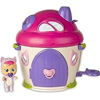 IMC Toys Cry Babies Magic Tears Katie's House Katie Bebé Lloro con Casa 38X33 Cm, (97940)