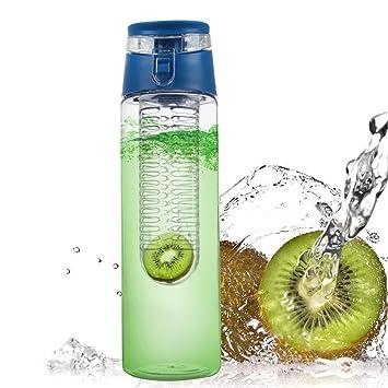 Reveryml Cantimploras y Botellas de Agua 800 ML Botella de Agua Portátil Deportes Botella de Jugo