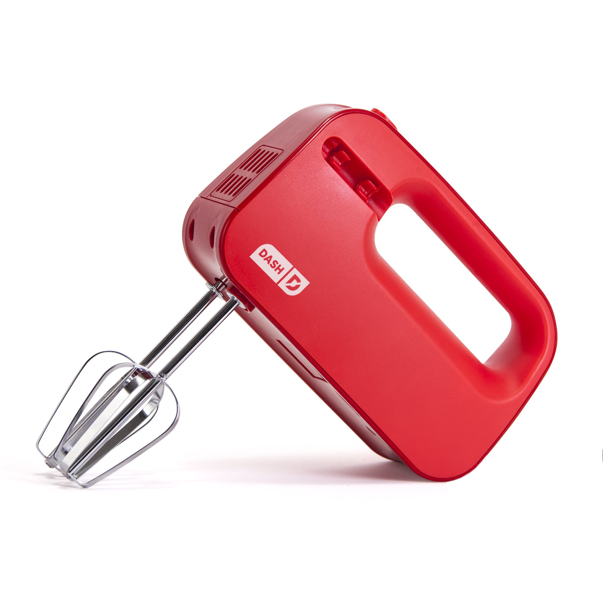 Dash SHM01DSRD Easy Store Hand Mixer, Compact, Red