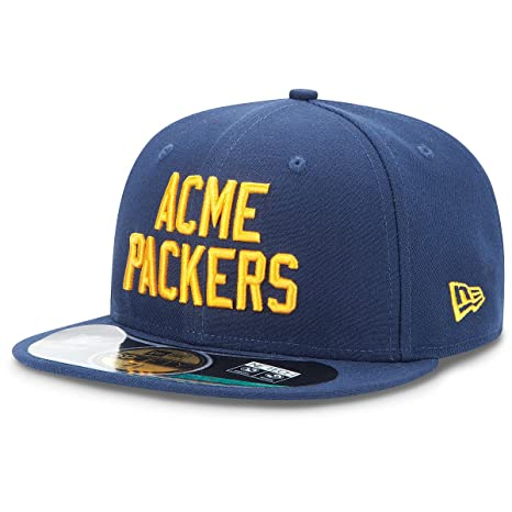 Image Unavailable. Image not available for. Color  New Era 59fifty Kid s  Hat Green Bay Packers Team On Field Fitted Navy Blue Cap ( aa24447c6